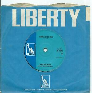 Brenton Wood:Gimme little sign/I think you've got fools mixed up:UK Liberty