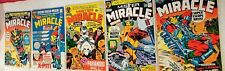 MISTER MIRACLE #1 #2 #3 #5 #6 ~ '71 ☆EARLY KEY ISSUES ~ GREAT LOW $$ ~ MOST  VF+