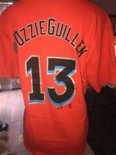 Miami Marlins @Ozzie Guille # 15 T Shirt Orange Mlb Baseball Nwots Med Cb2