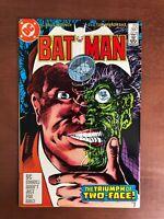Batman #397 (1986) 9.2 NM DC Key Issue Comic Book Two Face Robin High Grade