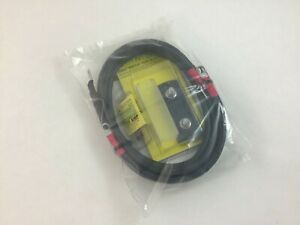 #4 X 5' Inverter to battery cables & Blue Sea 100 amp Mega fuse & holder