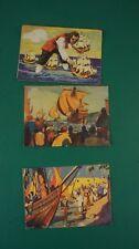 3 Großbilder Kaufmannsbilder Sammelbilder Christoph Kolumbus Dr. Oetker Alb-311