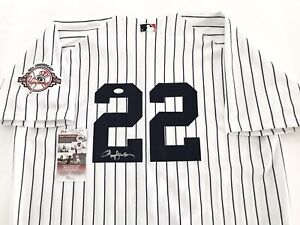 NEW YORK YANKEES ROGER CLEMENS signed RUSSELL ATHLETIC AUTHENTIC 100 JERSEY JSA