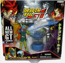 """Dragonball Z GT 6""""  inches DR. MYUU vs 4"""" BABY New Factory Sealed 2004"""