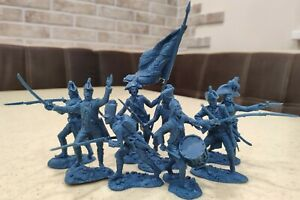 Collectible Plastic Toy Soldiers Publius Napoleonic Wars French Army 1:32 54 mm