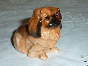 "Very Early (1930)  Royal Doulton Miniature (2"" High) Pekinese Dog - Seated K6 A"