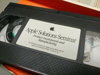 Apple Solutions Seminar - Product Development and Manufacturing VHS 1992