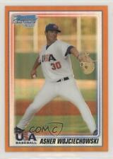2010 Bowman Chrome USA Team Orange Refractor /25 Asher Wojciechowski #USA-BC20