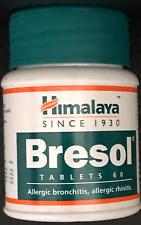 Bresol Comprimés Allergie Bronchite Allergie Rhinite Himalaya Herbal Naturel 60