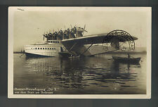 1931 Bodensee Germany DOX RPPC Postcard Cover to Czecoslovakia Bermuda to US FFC