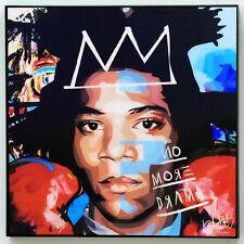 Jean Michel Basquiat Pop Art canvas quotes wall decals photo painting poster #2
