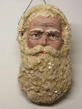 Christbaumschmuck Masse Dresdner Pappe Weihnachtsmann Santa Claus  Figur 1900