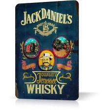 METAL TIN SIGN JACK DANIELS OLD POSTER WHISKEY Decor Home Bar Pub Wall Retro