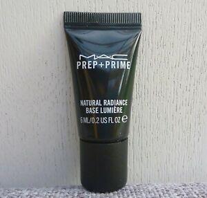 1x MAC Prep + Prime Natural Radiance Base Lumiere Travel Size, 6ml #Radiant Pink