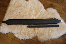 Ultimate hand made italian Deluxe guitar strap Leather & Velvet covered padding