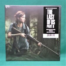 "The Last of Us Part II 2 Music Soundtrack 7"" Vinyl LP Mondo Blue & Black Swirl"