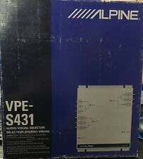 Alpine VPE-S431 Audio/Visual Selector