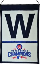 Chicago Cubs 2016 World Series Champions Wool Banner W Decor 13195