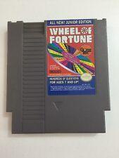 Wheel of Fortune Junior Edition Nintendo NES Game Cartridge (1989)