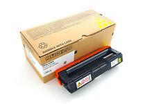 Cartuchos de tóner de impresora amarillos Ricoh