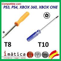 DESTORNILLADOR TORX T8 Y T10 PARA XBOX ONE PS3 PS4 HERRAMIENTA SLIM FAT SONY