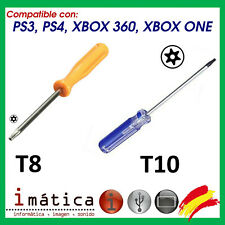 DESTORNILLADOR TORX T8 Y T10 PARA XBOX ONE PS3 PS4 HERRAMIENTA SLIM FAT SONY