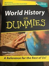 World History for Dummies by Peter Haugen (2001, Paperback)