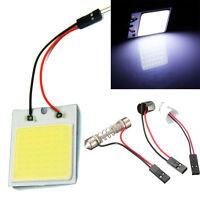 4pcs/set 48SMD COB LED T10 4W 12V Light Car Interior Panel Light Dome Lamp Bulb