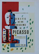 Pablo Picasso Lithograph Suite de 180 Dessins First Edition 1957