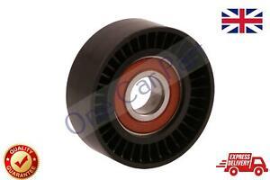 For Vauxhall Opel Adam Agila Astra H J Fan Belt Tensioner Pulley V Ribbed  Idler