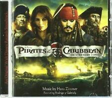 Pirates Of The Caribbean: On Stranger Tides - Soundtrack - Hans Zimmer  (NEW CD)