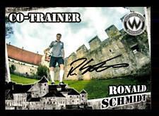 Ronald Schmidt Autogrammkarte Wacker Burghausen 2016-17 Original Sign+A 146088