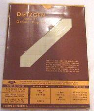 vintage Dietzgen graph paper LOT A  340 L310 Semi Log 3 cycles x 10 divisions