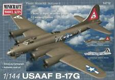 Minicraft Models 1/144 B-17G USAAF Plastic Model Kit 14712