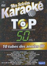 Mes Soirées Karaoke : Top 50 / 10 tubes des années 80 vol. 1 (DVD)