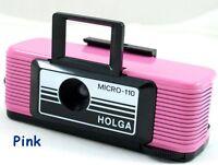 USD NEW Holga PINK Micro 110 mini Film Camera  Fujifilm Lomo Discontinoued