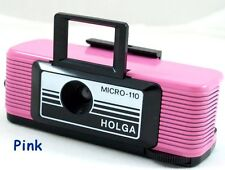 USD NEW Holga PINK Micro 110 mini Film Camera  Fujifilm Lomo Discontinued