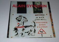Alain Syhlvain - méfiance... - cd album promo 16 titres pressage pour radio