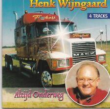 Henk Wijngaard-Altijd Onderweg cd single