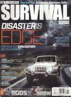 American Survival Guide Magazine Prepare For Evacuation April 2016 010818nonr