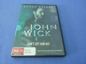 John Wick DVD Keanu Reeves Michael Nyqvist Region 4 Free Postage