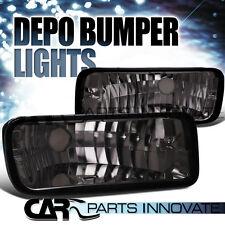 Chevy 85-92 Camaro Euro Smoke Turn Signal Lights Bumper Parking Lamp DEPO