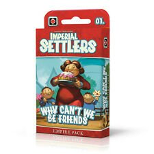 Imperial Settlers Why Can't We Be Friends Empire Pack Board Portal Games PLG0688
