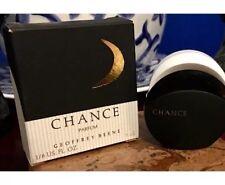 Vintage CHANCE Perfume PURE PARFUM Geoffrey Beene Mini .25Oz./4mL NIB PM3