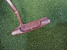 """USED LIMITED JAPAN PING BERYLLIUM COPPER BECU COPPER PING PAL 4 34"""" PUTTER"""