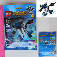 New LEGO Cartoon Network MIXELS Glowkies Vampos 59 Pcs Set Series 4 - 41534