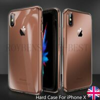 For iPhone X Case Apple Transparent Clear Hard Cover Crystal Ultra Thin 10 5,8""