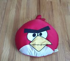 ANGRY BIRD MICROBEAN PILLOW PLUSH DOLL BED KIDS TRAVEL DORM GAME RED APP FUN TOY