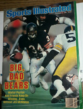 SPORTS ILLUSTRATED 12/18/1986 ISSUE w/ BEARS WALTER PAYTON COVER *EX+, NO LABEL*