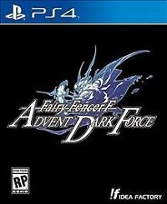 Fairy Fencer F Advent Dark Force (PS4) NEW
